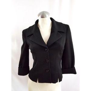 Bebe Size 2 Black Blazer Jacket